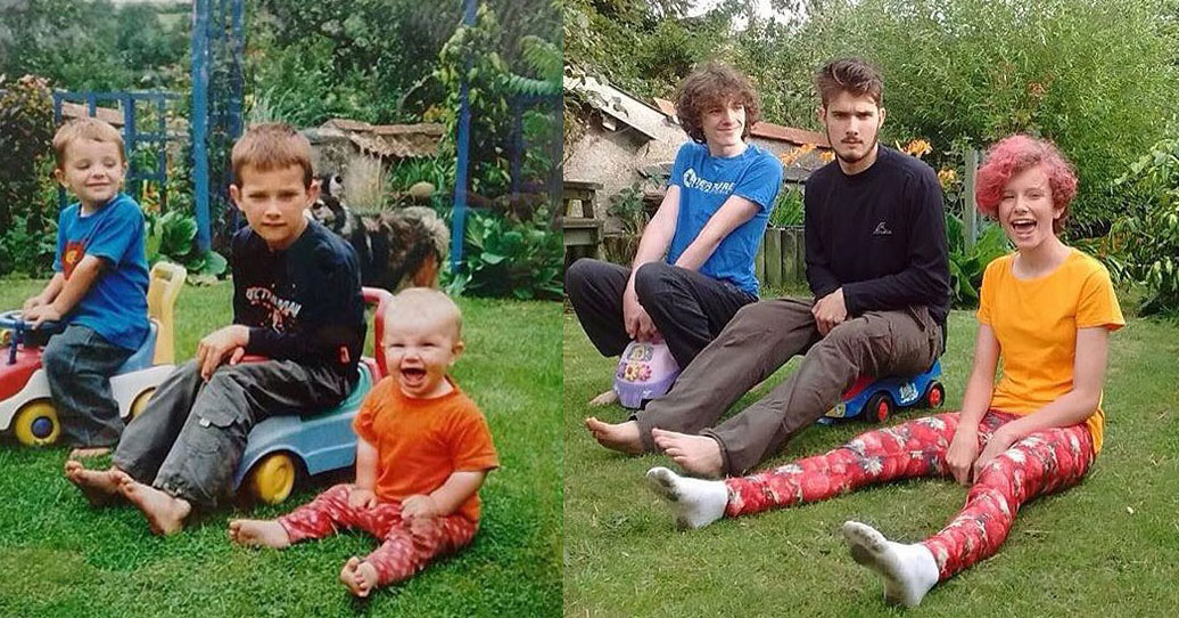 25 մարդիկ, որոնք վերստեղծել են իրենց մանկական և ընտանեկան լուսանկարները, և նրանց մոտ դա շատ լավ է ստացվել